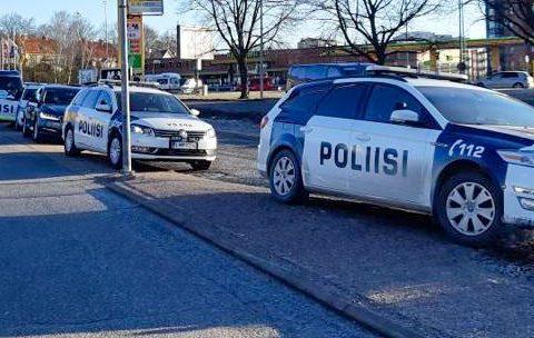 Poliisi jakoi yhteensä yli 200 sanktiota tai huomautusta suojatievalvonnassa keskiviikkona 7
