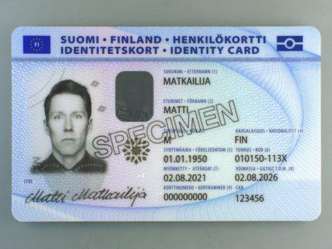 Matkustusoikeudellisille henkilökorteille lisätään sormenjäljet 2.8.2021 alkaen 3